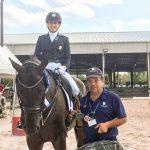 Virginia Yarur cierra con un triunfo su temporada en Wellington