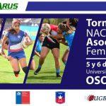 Osorno recibe la primera fecha del Torneo Nacional de Asociaciones de Rugby Femenino