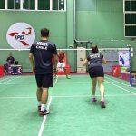 Alonso Medel y Camila Macaya avanzaron a semifinales de dobles mixtos en el Perú Future Series de Bádminton
