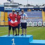 Con dos nuevas medallas se cerró la participación chilena en el Torneo Ranking Mundial de Tiro con Arco en Guatemala