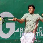 Christian Garin cayó en octavos de final del Challenger de Padova