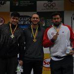 Chile logró cinco medallas de oro en el Grand Prix de Atletismo Mario Paz en Bolivia
