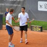 Hans Podlipnik y Andrej Martin cayeron en las semifinales de dobles del Challenger de Shymkent