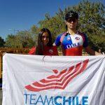 Emanuelle Silva y Javiera Vargas ganan medallas de bronce en el patín carrera de los Juegos Sudamericanos