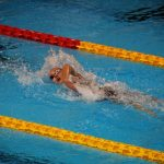 Kristel Köbrich ocupó el cuarto lugar de los 200 metros libres en la natación de los Juegos Sudamericanos
