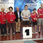 Matías Pino y Cristián Dettoni ganan medalla de plata por equipos en el Eslovaquia Open