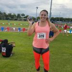 Natalia Duco logró un nuevo récord chileno de lanzamiento de la bala