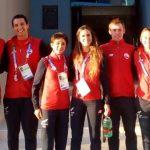 Chile obtuvo el cuarto lugar en los relevos mixtos del triatlón en Cochabamba