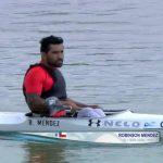Robinson Méndez obtuvo el séptimo lugar en la Copa Mundial de Para-Canotaje en Hungría