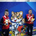 Susana Li y Carolina Videla se suben al podio en nueva jornada del karate en los Juegos Sudamericanos