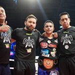 """Aguja"" González, ""Pancora"" Velásquez y ""Tigre"" Palma triunfaron en velada de boxeo en el Gran Arena Monticello"
