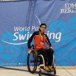 Alberto Abarza ganó cuatro medallas de oro y logró un récord parapanamericano en Berlín