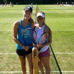 Alexa Guarachi debuta este miércoles en la qualy de dobles de Wimbledon
