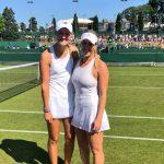Alexa Guarachi debuta este jueves en el cuadro de dobles de Wimbledon
