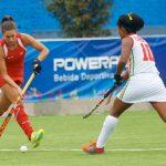 """Las """"Diablas"""" golearon a Bolivia y clasifican a semifinales del hockey césped femenino en Cochabamba"""