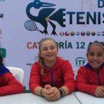 Equipo chileno de damas consiguió su primer triunfo en el Sudamericano Sub 12 de Tenis