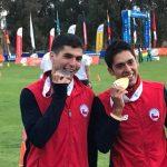 Esteban Bustos y Benjamín Ortíz sumaron un oro y una plata en el Pentatlón Moderno de los Juegos Sudamericanos