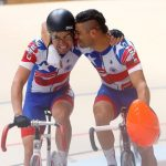 Antonio Cabrera y Felipe Peñaloza ganan medalla de oro en el último día del ciclismo de pista en Cochabamba
