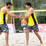 Primos Grimalt suman un triunfo y una derrota en la fecha de Las Vegas del World Tour de Volleyball Playa