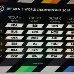 Chile conoció a sus rivales para el Mundial de Handball 2019