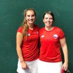 Magdalena Muñoz y Natalia Bozzo ganan medalla de oro en la pelota vasca de los Juegos Sudamericanos
