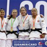Mary Dee Vargas y Thomas Briceño ganaron medalla de oro en el Sudamericano de Judo