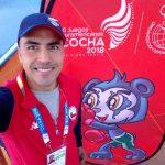 Miguel Ángel Véliz gana medalla de bronce en el boxeo de los Juegos Sudamericanos