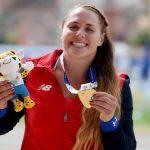 Natalia Duco logró una nueva medalla de oro para Chile en los Juegos Sudamericanos