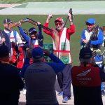 Pamela Salman y Claudio Vergara ganan medalla de oro en el tiro deportivo de los Juegos Sudamericanos