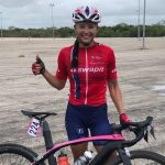 Paola Muñoz ganó la segunda etapa de la Vuelta a Yucatán