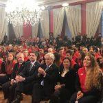 Presidente de la República recibió a los deportistas del Team Chile en La Moneda