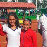 Equipo chileno femenino derrotó a Paraguay en el Sudamericano Sub 12 de Tenis