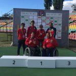 Equipo nacional de atletismo paralímpico sumó nuevas medallas en el cierre del Grand Prix de Berlín