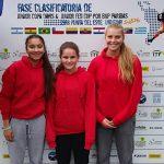 Equipo femenino chileno debutó con un triunfo en el Sudamericano Sub 16 de Tenis