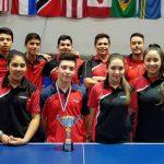 Chile logró tres medallas de bronce en el Panamericano Juvenil de Tenis de Mesa