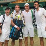 Fernando González se despidió con un triunfo del Invitation Doubles de Wimbledon