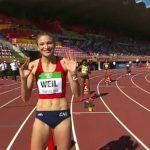 Martina Weil terminó sexta en su serie de 400 metros planos del Mundial Sub 20 de Atletismo