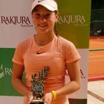 Alessandra Cáceres se tituló campeona del Paraguay Junior Open