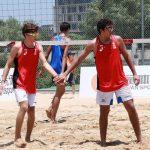Gaspar Lammel y Vicente Droguett cerraron su participación en el Mundial U19 de Volleyball Playa