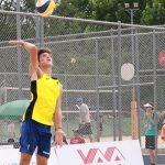 Vicente Droguett y Gaspar Lammel lograron su primer triunfo en el Mundial U19 de Volleyball Playa