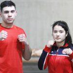 Andrews Salgado y Denisse Bravo están en Hungría para disputar el Mundial Juvenil de Boxeo