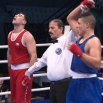 Andrews Salgado cayó ante el argelino Mohamed Hacid en los cuartos de final del Mundial Juvenil de Boxeo