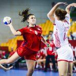 """Las """"Lobitas"""" cayeron estrechamente ante Croacia en el Mundial Juvenil Femenino de Handball"""