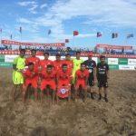 Selección Chilena de Fútbol Playa cae ante México en el inicio del cuadrangular internacional de Tangshan