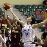 Chile cayó ante Venezuela en la segunda jornada del Sudamericano de Básquetbol Femenino