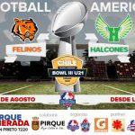 Este sábado se realizará la gran final juvenil de la Liga Football Americano LFA-Chile