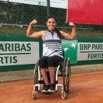 Macarena Cabrillana obtuvo el vicecampeonato de dobles en el Ath Open