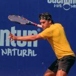 Michel Vernier se retiró en las semifinales del M15 de Cancún