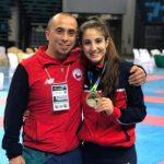 Valentina Toro gana medalla de oro en el Panamericano Junior, Cadete y Sub 21 de Karate