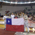 Chile se titula bicampeón del Sudamericano Pre Cadete, Cadete y Juvenil de Esgrima